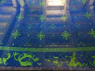 Bottom of the indoor pool